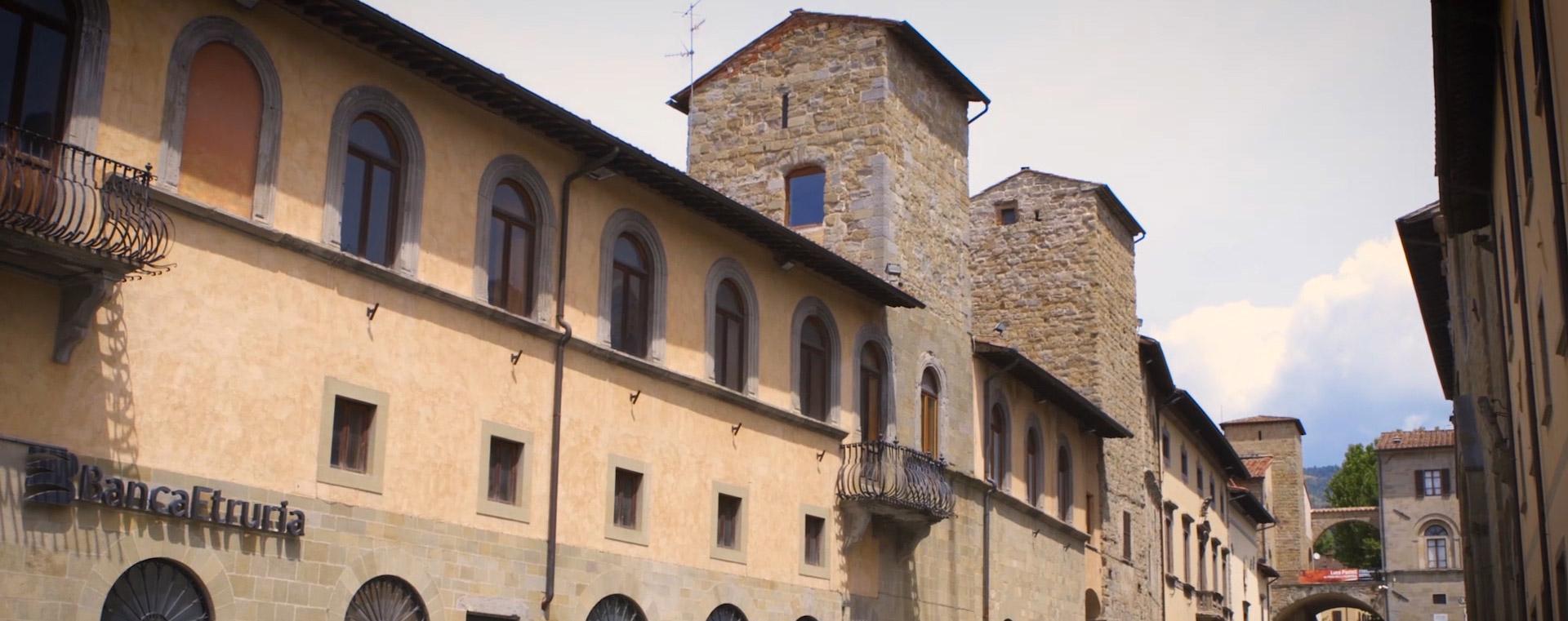Centro Storico Sansepolcro in Toscana