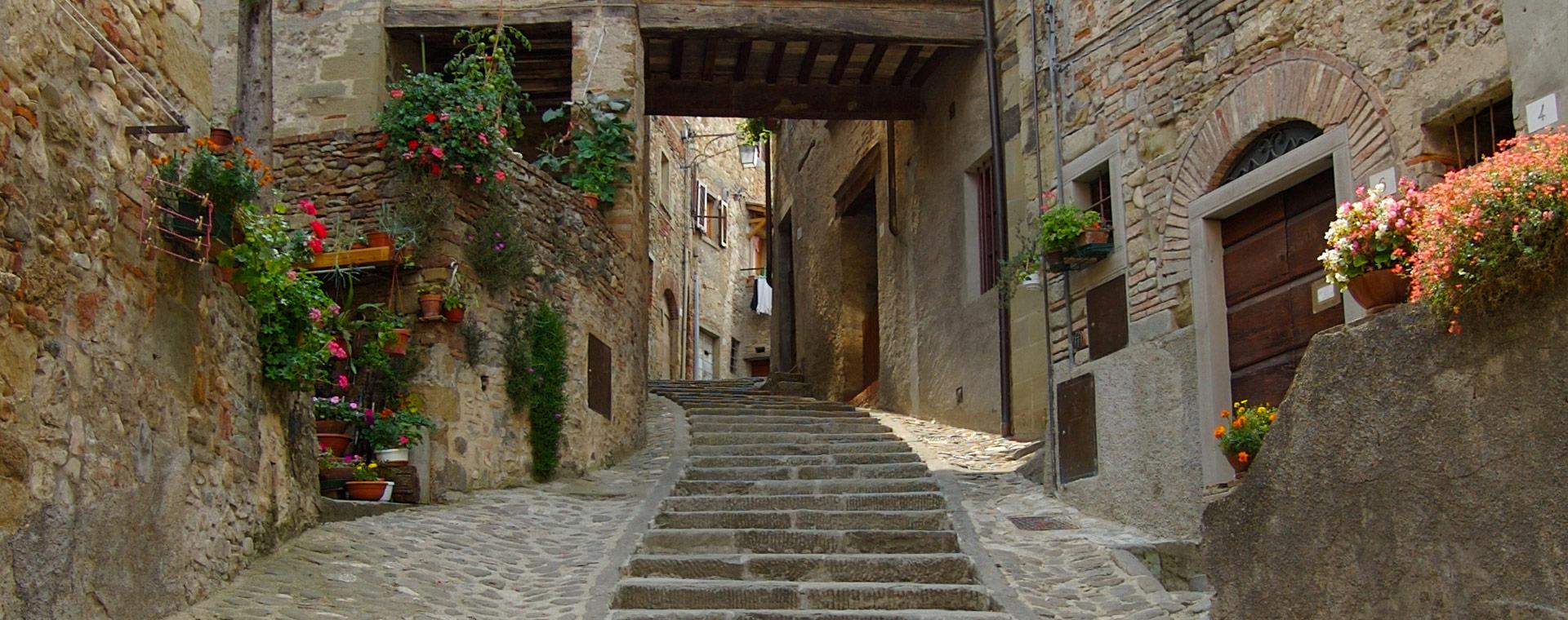 Villa nella campagna Toscana a Sansepolcro