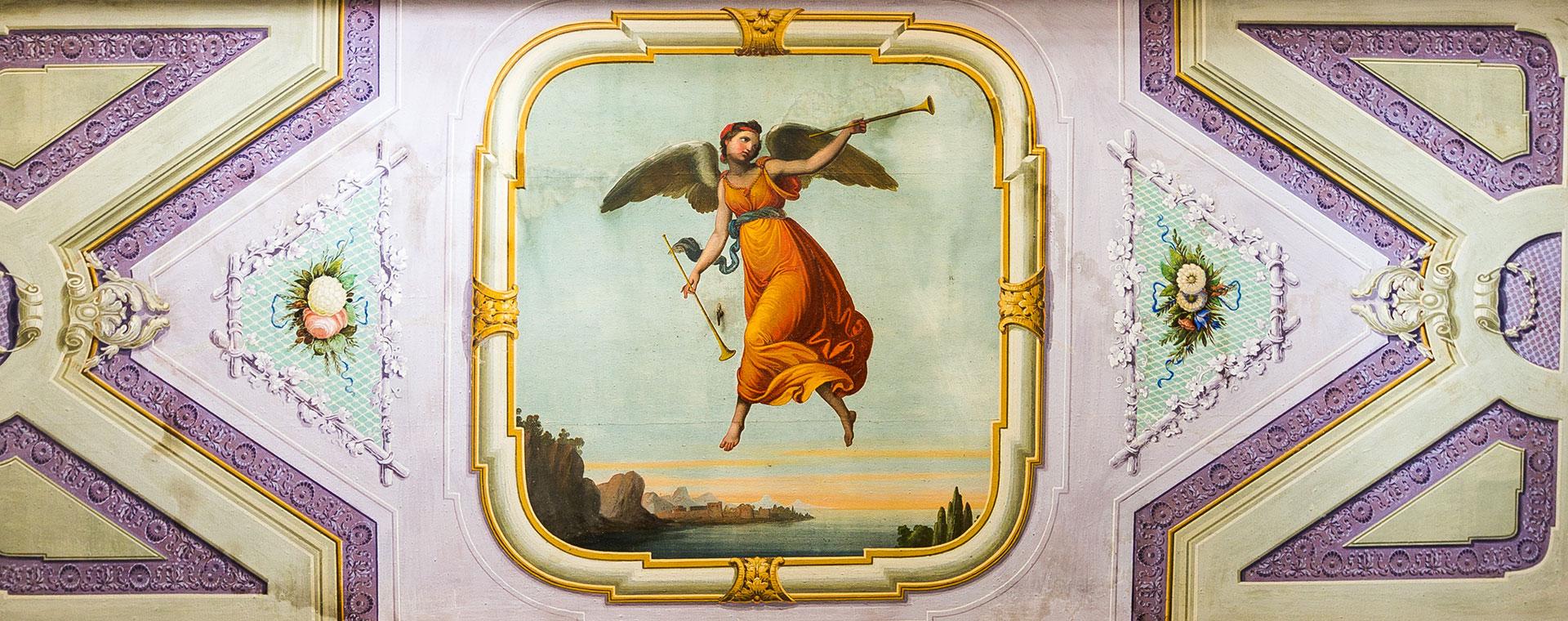 Toscana villa con affreschi in vendita ad Arezzo